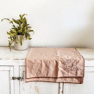 Tiny floral tablecloth